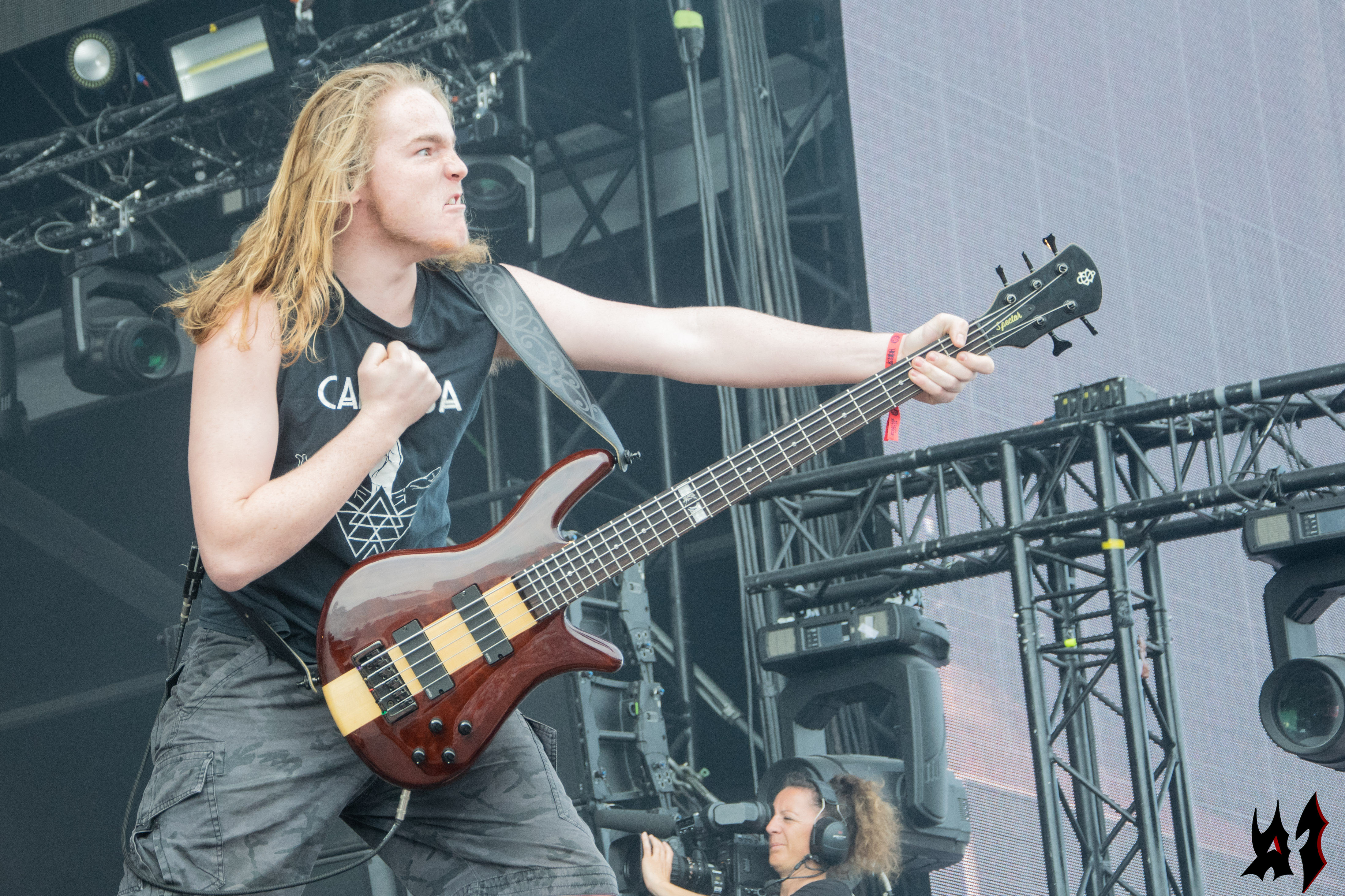 Hellfest - Alien Weaponry - 2
