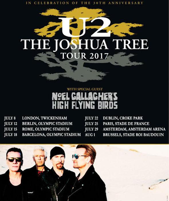 U2 - Paris