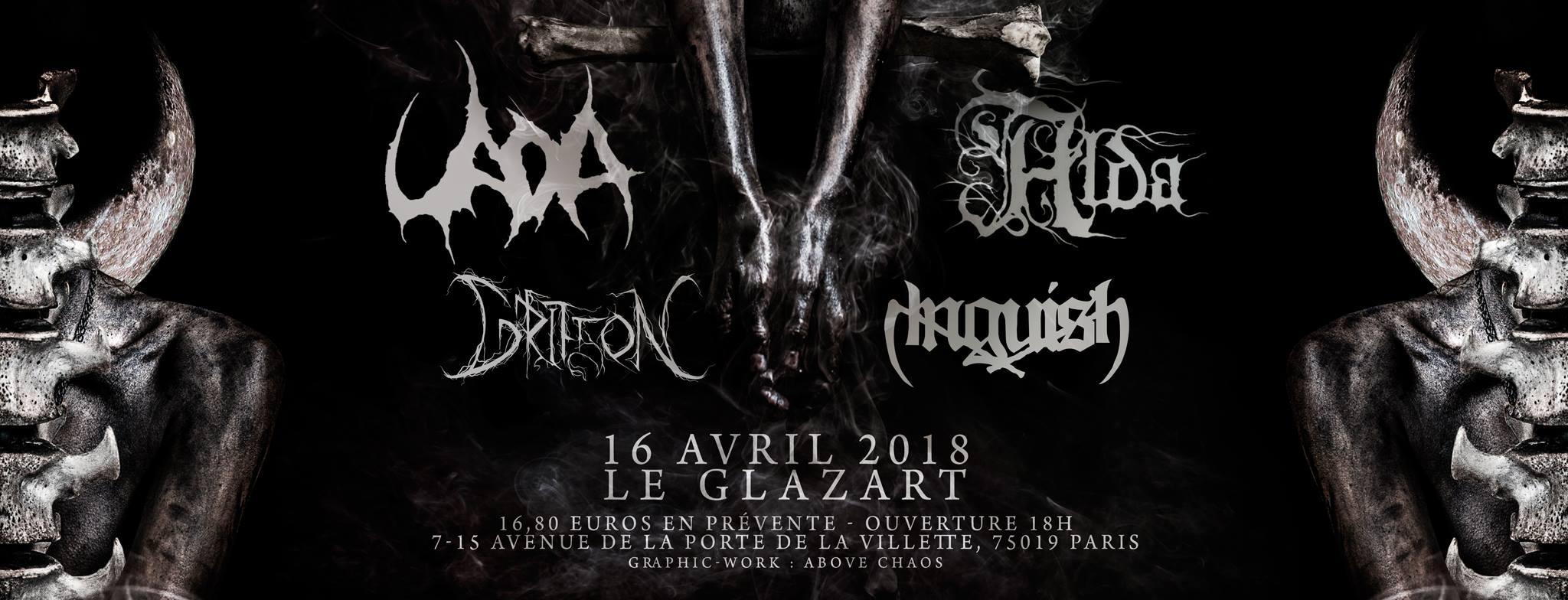 2018-04-16 - Uada + Alda + Griffon + Anguish