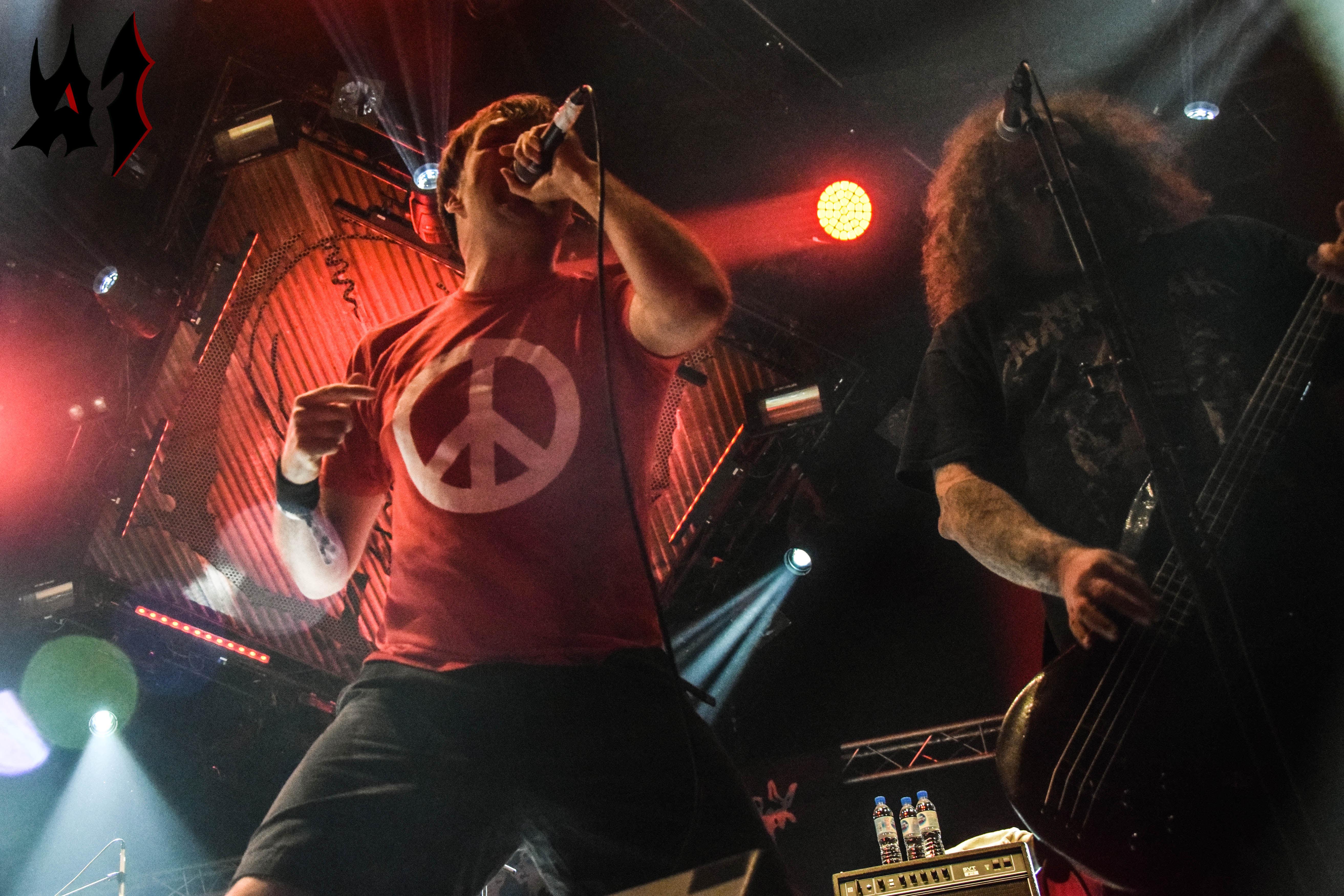 Hellfest - Day 1 - Napalm Death 12