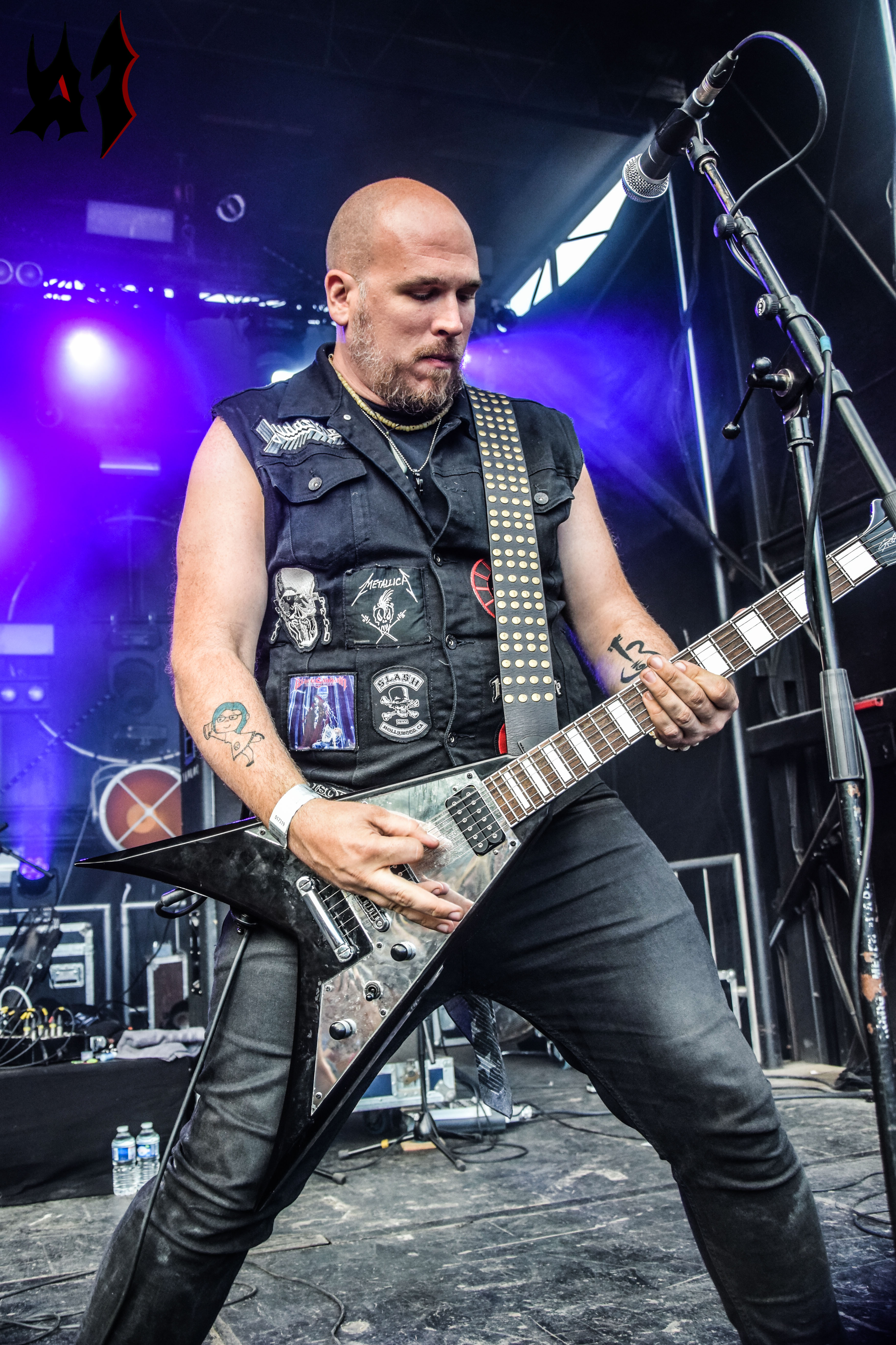 Motocultor 2018 – Day 3 - Toxic Holocaust 1