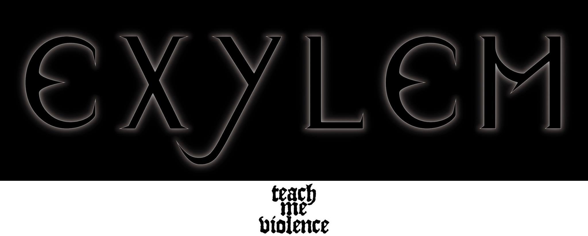 Exylem / Teach me Violence - Logo