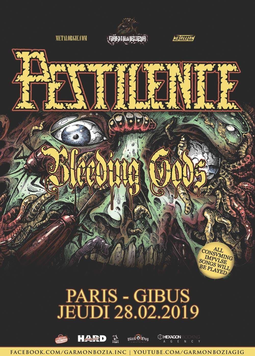 Pestilence + Bleeding Gods
